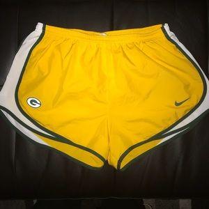 Nike Shorts - Green Bay Packers Nike Dri Fit Women's Shorts
